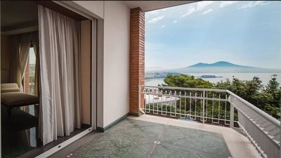 Photo for Panoramic apartment on the Gulf of Naples