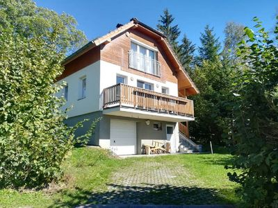 Photo for Holiday home on the Lipno only 80 m to the lake with sandy beach