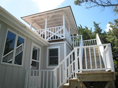Photo for Kith And Kin:  Old Ocracoke style cottage, spacious screened porch.