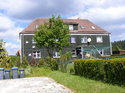 Photo for Modern, cozy apartment with great views, fenced garden, 2 Stellpl