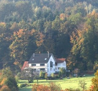 Photo for Apartment in semi-detached house with views over the Black Forest and the Vosges foothills
