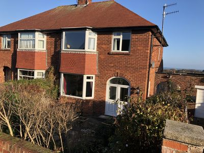 Photo for 3 bed family house with partial sea views