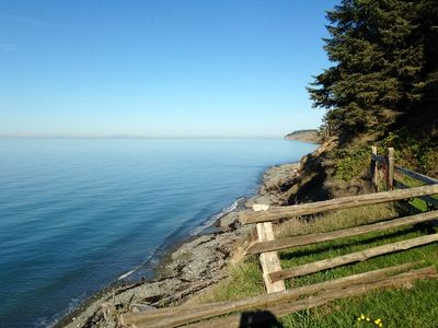 Photo for Hideaway House: Beautiful Water Views & Pvt. Beach Trail Between Sequim & PA