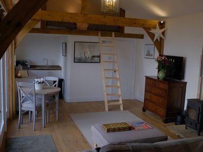 Photo for Cosy Cabin with stunning views near Midhurst,