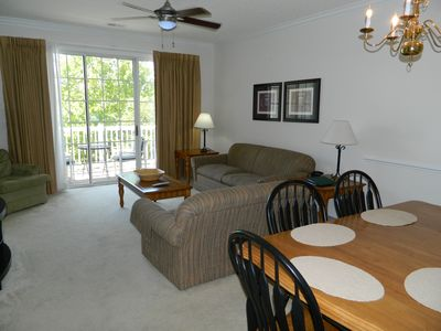 Photo for PET FRIENDLY Amazing Golf Views at Barefoot Resort Golf, Swim, Relax, Repeat!