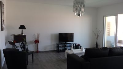 Photo for New apartment spacious and bright with private garage near sea / mountain