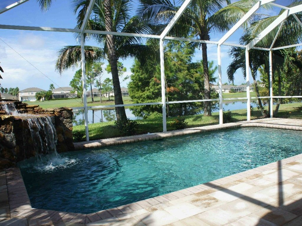 Villa Stoneybrook - Vacation Rental... - Homeaway Stoneybrook 15 Designs Wasserfall Swimming Pool