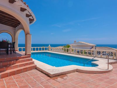 Photo for PENELOPE, Villa with sea views in Basetes for 6 pax.