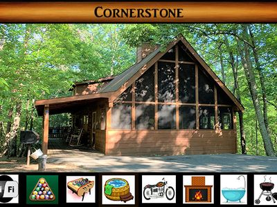 Photo for Cornerstone } in Hidden Mtn West near Lake #2 - 8 mins from Pigeon Forge Parkway