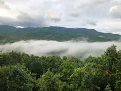 Photo for Best mountain views in Gatlinburg and just minutes from hiking and golf.