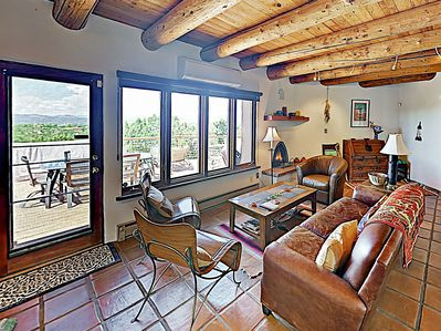 Living Area - Welcome to Santa Fe! This home is professionally managed by TurnKey Vacation Rentals.