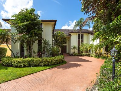 Photo for SPECIAL HOLIDAY RATES  Estate Home In Exclusive Palm Beach Polo Club 8 BR 11BATH