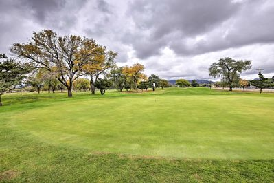 You'll be just 3 blocks from the Los Altos Golf Course.