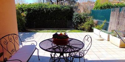 Photo for S44 - Sirolo, delightful three-room apartment with garden