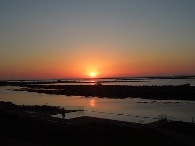 Photo for A beautiful one bedroom apartment - right on the waterfront in the Ria Formosa.