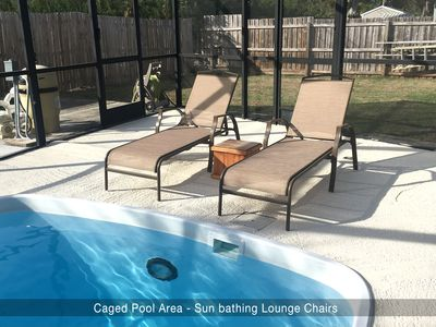 Photo for 3Bed, 2Bath, Heated Pool Home close to Tampa Airport, beach, & family fun!