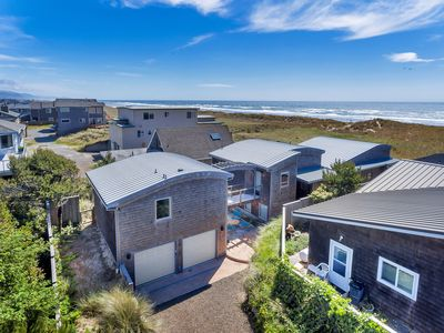Photo for Manzanita Waves House: Luxury Oceanfront Short-Term Vacation Rental
