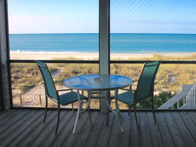 Photo for DIRECT BEACH/OCEANFRONT! with Pool, Golf cart, Kayak, SUP, Bikes, Sunsets, Pets!