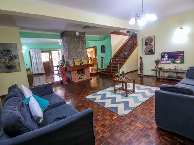 Beautiful and modern 6 bedroom villa in Arusha town with a garden and free wifi