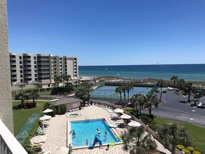 Photo for Unit 509 - Direct Gulf View **FREE Beach Service**