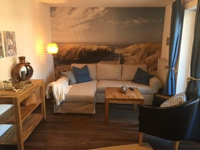 Photo for Haus Scharhörn Apartment 12 (The Coastal Cabin), nonsmoking, WiFi, balcony, beach chair on the beach (seasonal)