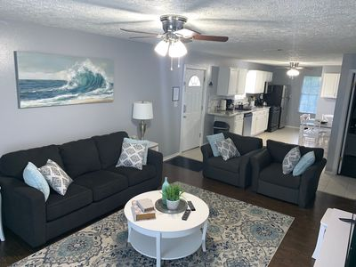 Photo for Vacation House Five minutes from the beach.