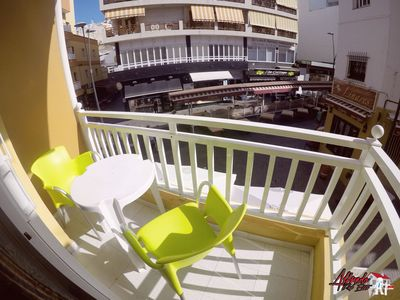 Photo for Luminous apartment with WIFI in Los Cristianos center