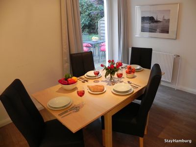 "Photo for 2-Zi.-Apartment ""Neue Flora"", modern apartment for up to 5 people., Incl. WIFI"