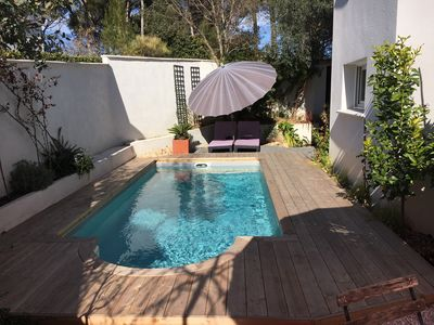 Photo for Charming house with pool near Montpellier