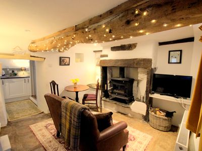 Photo for Beebole Cottage, cosy Dales home nr Askrigg, Bainbridge & Hawes, sleeps 2