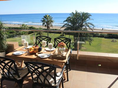 Photo for GAVA2 BEACHFRONT PENTHOUSE BARCELONA CASTELLDEFELS