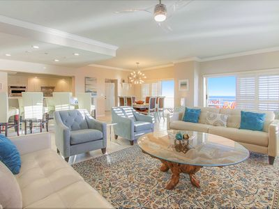 Photo for Modern Serenity | Gulf Front PENTHOUSE | Luxury Right On The Beach | April Discounts |