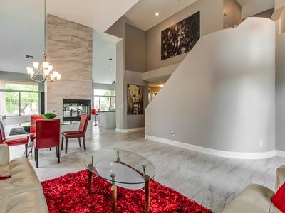 Photo for A Modern Decorated Large Home Located On A Cul De Sac on the greenbelt