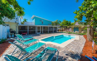 Photo for Private Pool & Game Room & 160 yards To The Beach from family friendly home