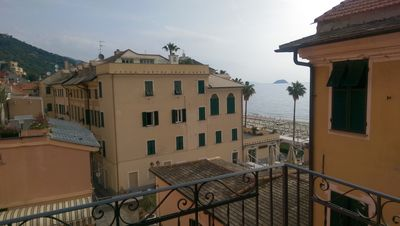 Photo for Laigueglia apartment/flat 85 square metres with view on the sea  - 6/8 people - near to the beaches - available from  20th October 2012