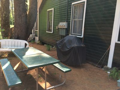 Grill and picnic area