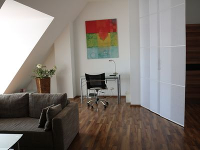Photo for Exclusive loft apartment in the old town with a large roof terrace