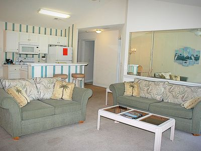 Photo for Family Friendly 2 bedroom, 2 bath, with great resort amenities(1008)
