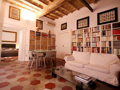 Photo for Enchanting 2BR Apt near Pantheon&Vatican - Apartment for 7 people in Roma