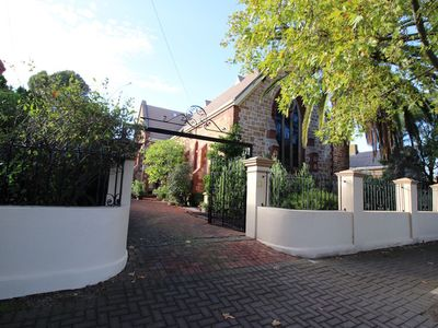 Photo for Church near city - 2 bedroom, sleeps up to 4 - unique & luxurious stay