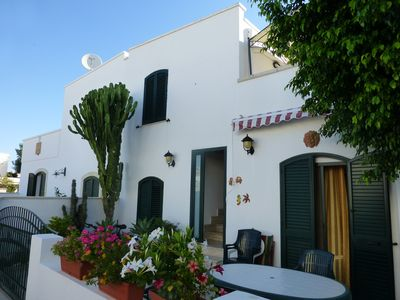 Photo for Santa Maria di Leuca, Salento, one bedroom apartment sleeps 4 in semi-detached cottage