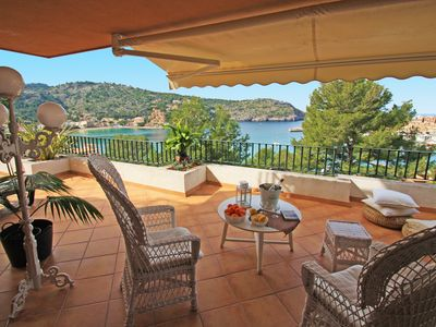 Photo for Seaview Apartment in Port de Soller, minutes from the sea.