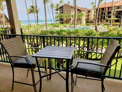 Photo for Papakea Unit E204 - Oceanfront and Ocean View Studio - north of downtown Lahaina