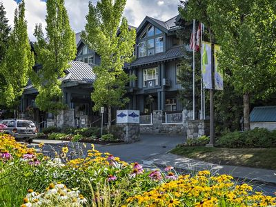 Photo for SKI IN/OUT: Glacier Lodge condo 343 (1 bedroom+loft) with outdoor pool+hot tubs