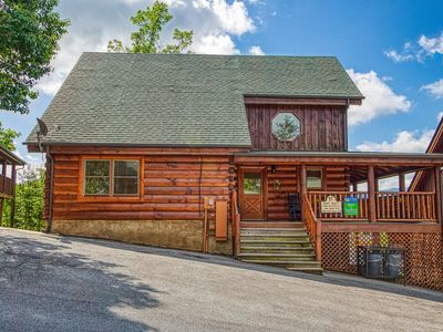 Photo for Pigeon Forge 2 BR Cabin with Views, Arcade Games, Indoor Pool, Pool table