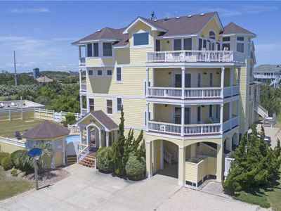 Photo for Semi-Oceanfront Luxury w/ Elevator, Pool & Tiki Bar, Hot Tub, Theater & Game Rms