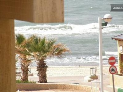 Photo for VIEW ON THE SEA! 100 METERS FROM BEACHES MEZIZIM, HILTON & PORT (HANAMAL)