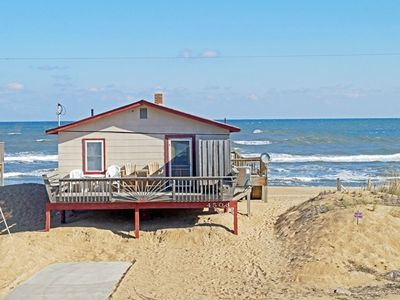 Photo for OCEANFRONT RETREAT WITH 3 BEDROOMS, DOG FRIENDLY AND OUTSTANDING OCEAN VIEWS!