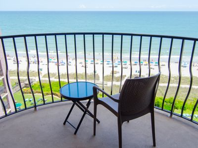 Photo for Oceanfront 1 Bedroom Condo w/ Amazing View + Official On-Site Rental Privileges