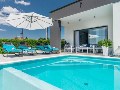 Photo for Beautiful newly built Villa Oleandra for up to 5 persons, with private pool